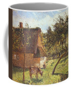 Field At Varengeville Coffee Mug by Camille Pissarro