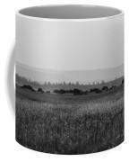 Field Of American Bison Bw Coffee Mug
