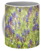 Field Of Blue Lupines  Coffee Mug