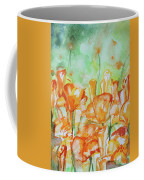 Field Of California Poppies Coffee Mug