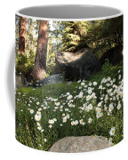 Field Of Daisies In Tahoe Coffee Mug