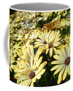Field Of Daisies Landscape Floral Art Prints Daisy Baslee Troutman Coffee Mug