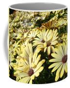 Field Of Daisies Landscape Floral Art Prints Daisy Baslee Troutman Coffee Mug