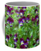 Field Of Pansy's Coffee Mug
