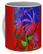 Field Of Purple Flowers Coffee Mug