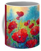 Field Of Red Poppies Coffee Mug