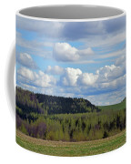 Field To Forest To Hill To Sky Coffee Mug