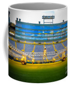 Field View Of Lambeau Coffee Mug