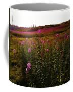 Fields In Pink Coffee Mug