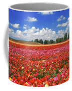 Fields Of Flowers At Nir Banim Coffee Mug