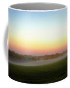 Fields Of Fog Coffee Mug