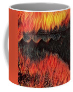 A Hot Valley Of Flames Coffee Mug