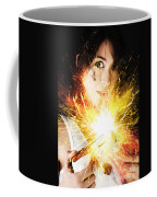 Fiery Jump Start Coffee Mug