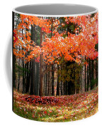 Fiery Leaves Coffee Mug