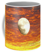 Fiery Moon Coffee Mug