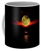 Fiery Moon Rise Coffee Mug
