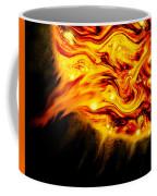 Fiery Sun Erupting With M1.7 Class Solar Flare Coffee Mug