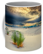 Fiery Sunrise At White Sands Coffee Mug