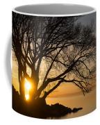 Fiery Sunrise - Like A Golden Portal To Another World Coffee Mug