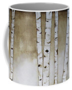 Fifteen Birch Trees Coffee Mug