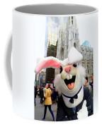 Fifth Ave Easter Bunny Coffee Mug