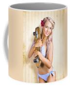 Fifties And Sixties Australian Surf Skate Culture Coffee Mug