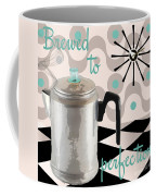Fifties Kitchen Coffee Pot Perk Coffee Coffee Mug
