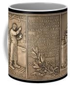 Fiftieth Anniversary Of The Christofle Company, 1842-1892 [reverse] Coffee Mug