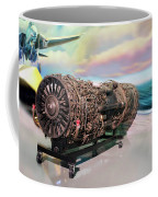 Fighter Jet Engine Coffee Mug