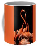 Fighting Flamingos Coffee Mug