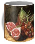 Figs And Grapes Coffee Mug