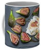 Figs Dessert With Mascarpone Coffee Mug