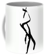 Figure Silhouette Coffee Mug