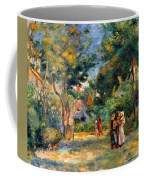 Figures In A Garden Coffee Mug