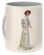 Figurine In Medieval Dress, Coffee Mug