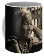Filipino Lola Image Number 33 In Black And White Sepia Coffee Mug