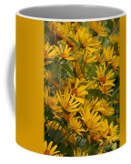 Filled With Sunflowers Vertical Coffee Mug