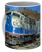 Fillmore And Western Railway Christmas Train 3 Coffee Mug