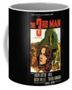 Film Noir Poster  The Third Man Coffee Mug