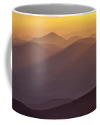 Filtered Light On The Blue Ridge Parkway Coffee Mug by Rob Travis