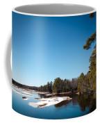 Final Winter Days On The Moose River Coffee Mug