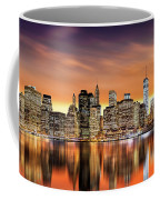 Financial District Sunset Coffee Mug