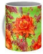 Fine Art Floral Art Prints Canvas Orange Rhodies Baslee Troutman Coffee Mug