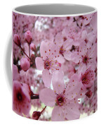 Fine Art Prints Spring Pink Blossoms Trees Canvas Baslee Troutman Coffee Mug