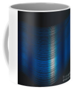 Fine Blue Thread Coffee Mug