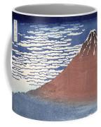 Fine Weather With South Wind Coffee Mug by Hokusai