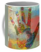 Finger Paint Coffee Mug