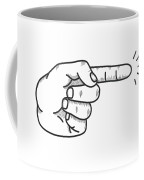 Fingered Coffee Mug