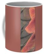 Fingers On Gray Abstract Coffee Mug