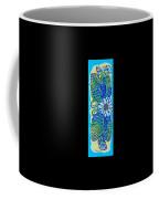 Finished15 Ink Drawing Handtowel Series W Black Background Coffee Mug